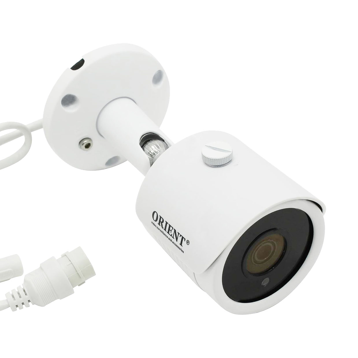 "IP-камера ORIENT IP-33-OH40APSD MIC, (H.265/H.264). 1/3"" OV4689 + Hi3516D, WDR; With IR-CUT;Including Internal POE and SD Card SlotMain Stream: 4MP@20fps, 3MP/1080P@30fps; 4MP HD Lens. 2,8mm lens. IR30M. Встроенный микрофон"