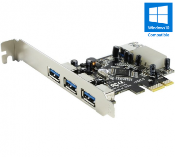Контроллер ORIENT PCI-E VA-3U31PE PCIe to 3+1 port USB3.0 oem